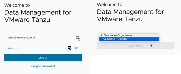 DMS Provider UI Login Page