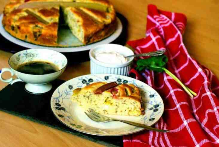 rhubarb bread vegan