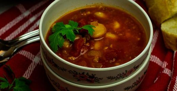 serbian bean soup vegan