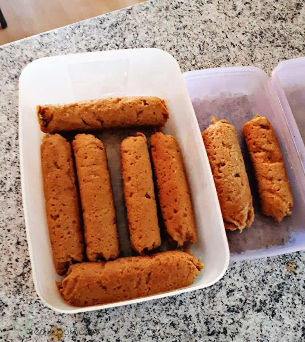 Seitan Wurst, Seitan Hot Dog