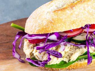 Veganer Thunfisch Salat