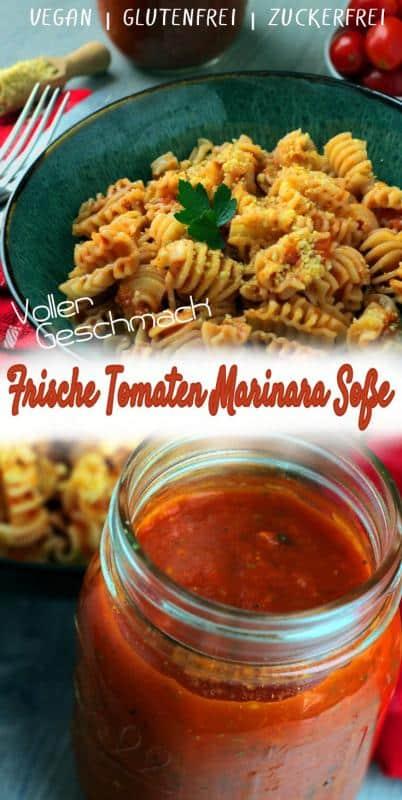 frische Tomaten Marinara Soße