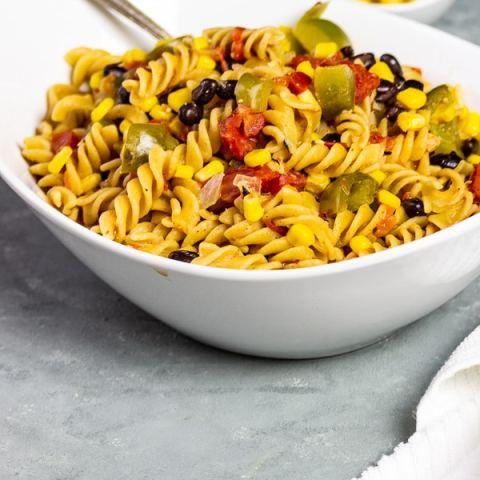Vegane One Pot Tex Mex Pasta