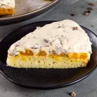 Vegan Marshmallow Fluff Cake