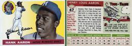 Hank Aaron 1955 Topps #47