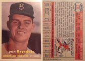 Don Drysdale 1957 Topps #18
