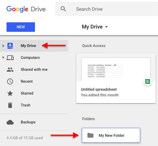 "Una carpeta recientemente creada en la sección Mi unidad de Google Drive ""srcset ="" https: //blog.hubspot .com / hs-fs / hubfs / my% 20drive% 20folders% 20google% 20drive.png? t = 1526202848593 & width = 267 & height = 246 & name = my% 20drive% 20folders% 20google% 20drive.png 267w, https: //blog.hubspot. com / hs-fs / hubfs / my% 20drive% 20folders% 20google% 20drive.png? t = 1526202848593 & width = 533 & height = 491 & name = my% 20drive% 20folders% 20google% 20drive.png 533w, https://blog.hubspot.com /hs-fs/hubfs/my%20drive%20folders%20google%20drive.png?t=1526202848593&width=800&height=737&name=my%20drive%20folders%20google%20drive.png 800w, https://blog.hubspot.com/ hs-fs / hubfs / my% 20drive% 20folders% 20google% 20drive.png? t = 1526202848593 & width = 1066 & height = 982 & name = my% 20drive% 20folders% 20google% 20drive.png 1066w, https://blog.hubspot.com/hs -fs / hubfs / my% 20drive% 20folders% 20google% 20drive.png? t = 1526202848593 & width = 1333 & height = 1228 & name = my% 20drive% 20folders % 20google% 20drive.png 1333w, https://blog.hubspot.com/hs-fs/hubfs/my%20drive%20folders%20google%20drive.png?t=1526202848593&width=1599&height=1473&name=my%20drive%20folders% 20google% 20drive.png 1599w ""tamaños ="" (ancho máximo: 533px) 100vw, 533px"