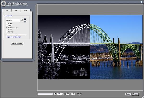 """virtualPhotographer Photoshop plugin """"title ="""" vP_Bridge.jpg"""