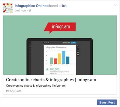 """Plantilla de anuncio de Facebook para publicación potenciada """"width ="""" 400 """"style ="""" width: 400px; margin-left: auto; margin-right: auto"""