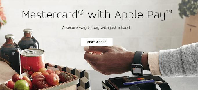 Asociación de marca compartida entre Apple y MasterCard en Apple Pay [19659073] Fuente: </span><a href=