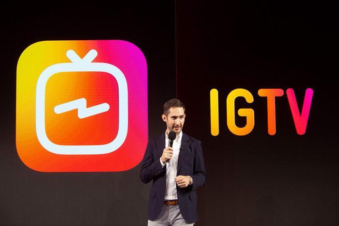 Instagram lanza IGTV, lo que permite a los usuarios subir videos de una hora de duración