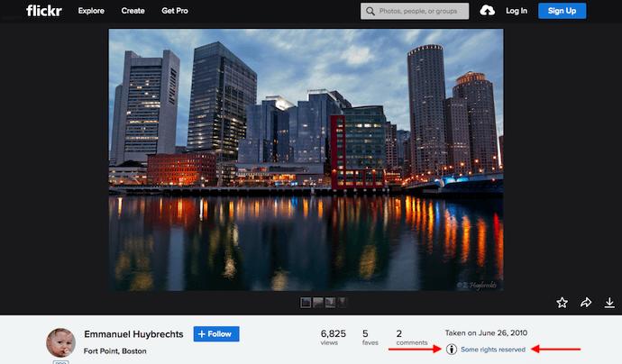 Imagen de Boston en Flickr bajo la licencia Creative Commons Attribution