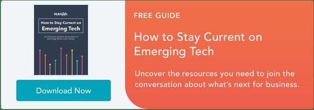 Manténgase actualizado con la tecnología emergente