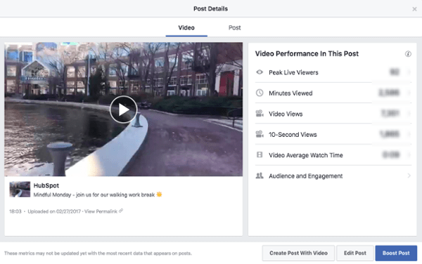 """Facebook Video en vivo con análisis ics barra lateral en el lado derecho """"title ="""" FBLIve_analytics1.png """"width ="""" 600 """"style ="""" width: 600px"""