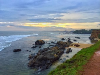 my favourite spot on the fort wall; i easily spent hours standing up here. galle, sri lanka. september 2015.