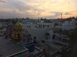another stunning moodalpalya sunset. bangalore, india. november 2015.