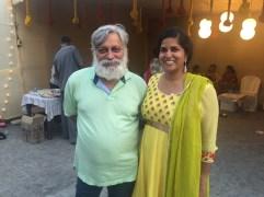 papa guruji. we're best friends.