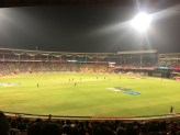 sri lanka v west indies well underway. bangalore, india. march 2016.