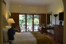 beautiful room at the oberoi. bangalore, india. march 2016.