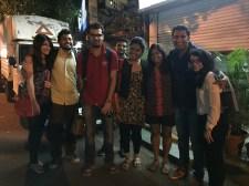 saying bye to the zaya kids. bombay, india. may 2016.