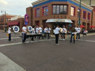 grizzline entertaining on beale street. memphis, tennessee. october 2016.