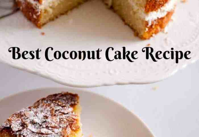 Coconut Cake Recipe Desiccated Coconut Cake Veena Azmanov