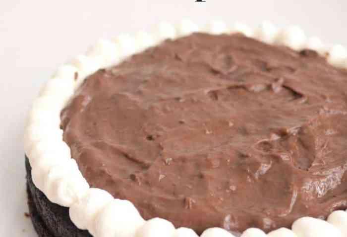 Moist Eggless Chocolate Fudge Cake Recipe Veena Azmanov