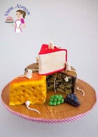Carved Cakes by Veena Azmanov