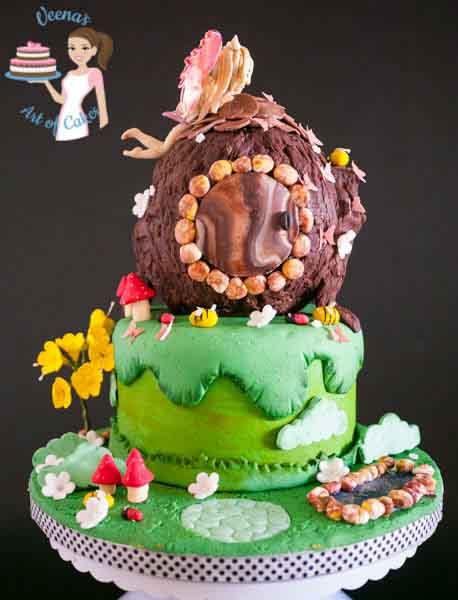 Birthday cakes by Veena Azmanov in Israel, Ra'anana, Tel-Aviv, Sfar-Saba.