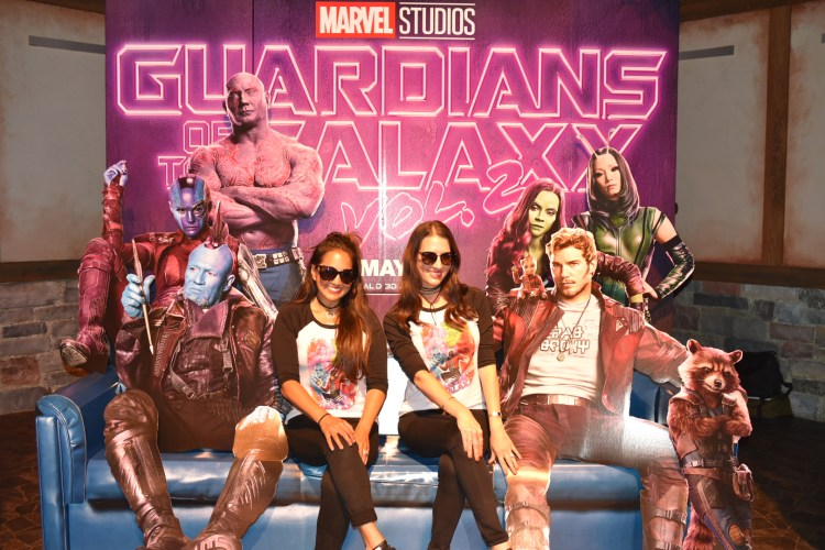 Guardians of the Galaxy: Mission Breakout Ride