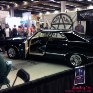 Supernatural car.