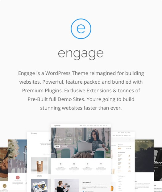Engage - Responsive Multipurpose WordPress Theme - 1