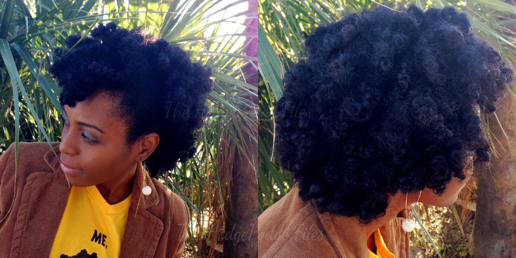 Banti Knot Out On Blown Out Hair
