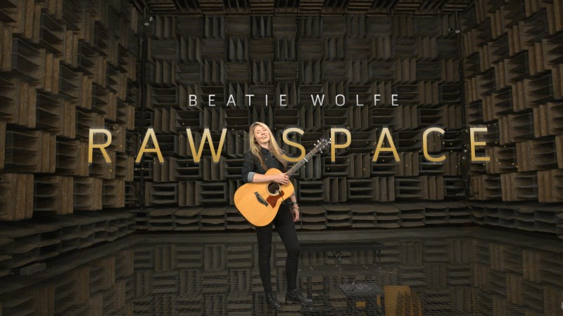 Musician Beatie Wolfe 360-streams album from world's quietest room
