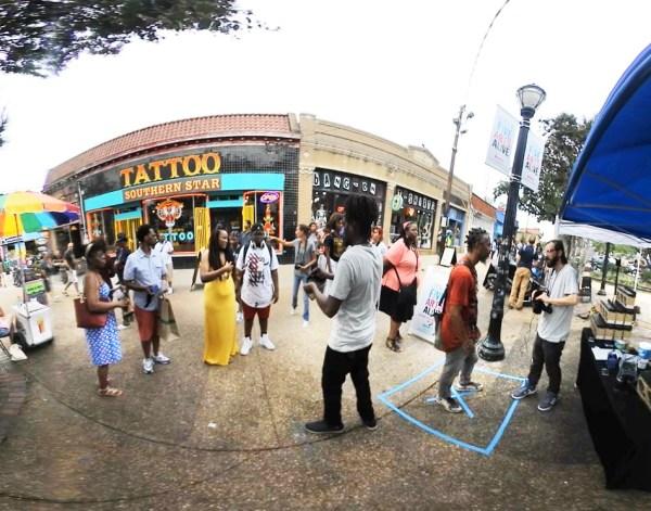 VR Street Experience pop up, 2017