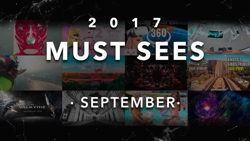 Here it comes! Must-sees of September!