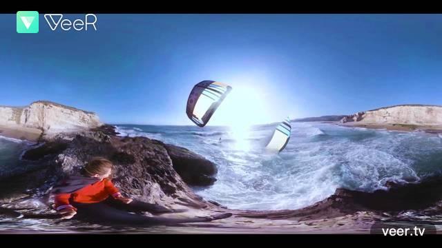 vr video 360 kitesurfing
