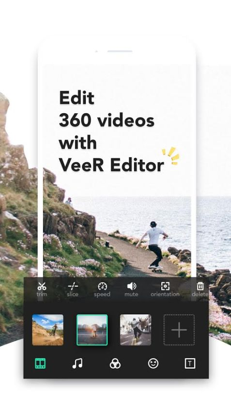 VeeR Editor for 360 Videos
