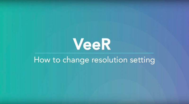 VeeR launches 360 Video Resolution Options on Web