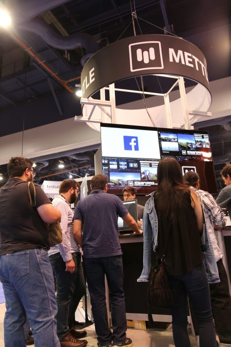 NAB 2017 Mettle booth