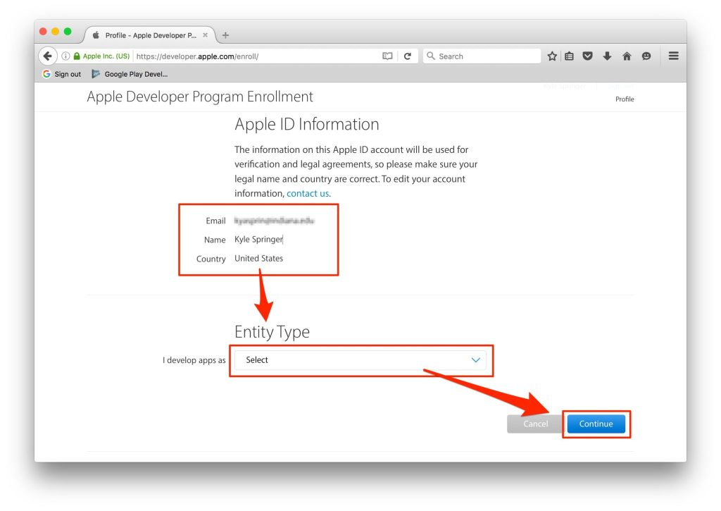Creating an iOS Developer Account - Easy Step by Step Guide