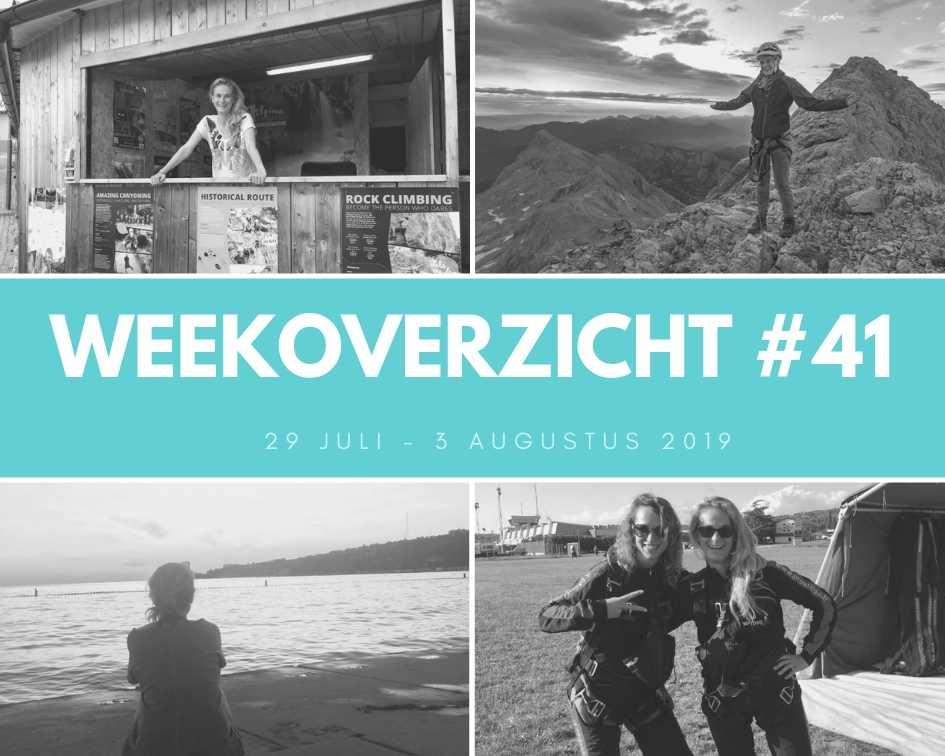 Weekoverzicht #41: liften en skydiven!