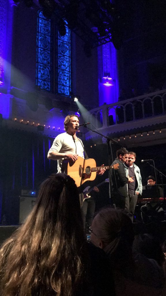 Pete Murray in Paradiso