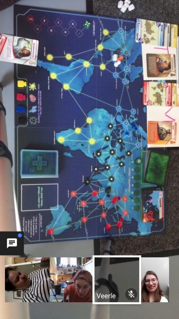 Online Pandemic spelen met anderen