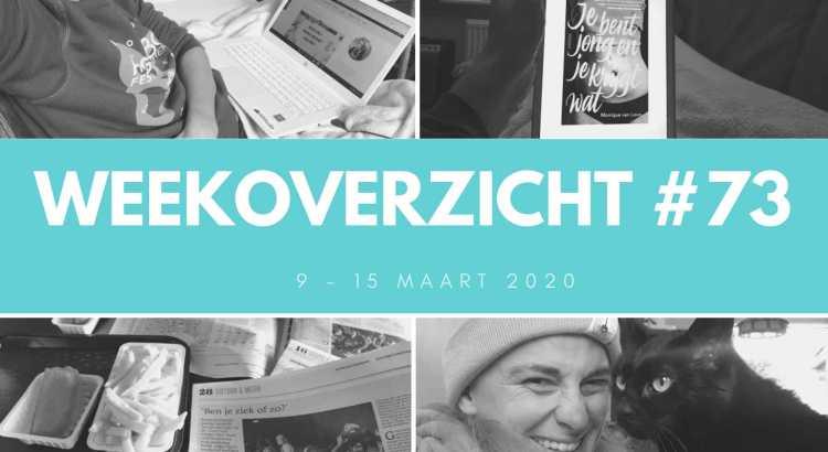 Weekoverzicht #73: festival afronden en binnen zitten
