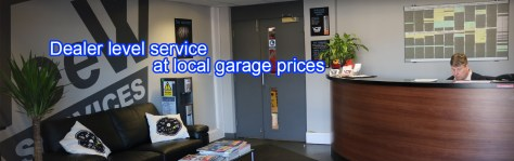 Dealer level service at local garage prices
