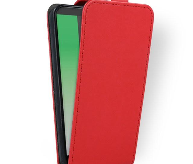 Flex Fall Holster Decken Cover Case Tasche Huawei Mate  Lite Rot
