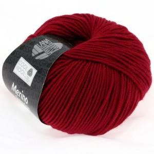 Lana Grossa Cool Wool 514 - Mørkerød