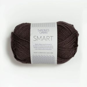 Sandnes Smart 4071 - Mørk Brun
