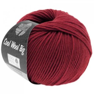 Wool Big 960 - Vinrød